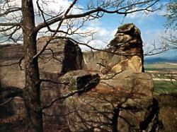 Skalní hrad Klamorna