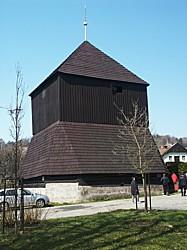 Zvonice v Rovensku pod Troskami