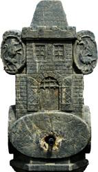 Znak města Železný Brod na kašně